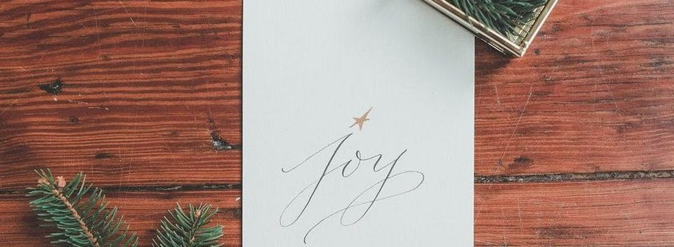 "Calligraphy with a ""Holiday Twist"""
